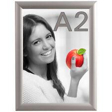 DIN A2 Alu Klapprahmen Wechselrahmen Bilderrahmen Plakatrahmen Aluminium mit 25mm Rahmen