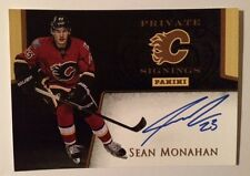 Toronto Expo Rookie Sean Monahan Signed Calgary Flames Private Signing Autograph