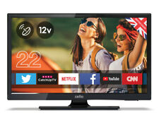 "CELLO 12v 22"" SMART LED TV FREEVIEW HD & SATELLITE TUNER 2 HDMI 2 USB 1080p HD"
