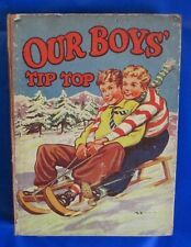 1936 OUR BOYS TIP TOP HC GVG 1st ed Renwick Of Otley