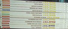 LOT 13 Albums BD : C.R.S. = DETRESSE (Tome 1 à 13 ACHDE Dargaud)