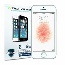 Tech Armor HD Clear Film Screen Protector [3-Pack] for Apple iPhone 5/5c/5s/SE