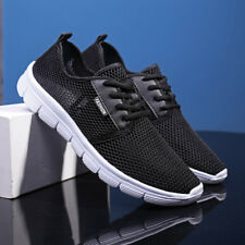 Men Running Shoes Casual Breathable Mesh Lightweight Sneakers Sports Plus Size