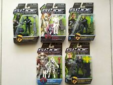 *NEW* G-I-JOE-Rise-Of-Cobra-Hasbro-Action-Figures-Collection-Lot-of-5-Movie