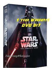 NEW Star Wars: The Complete Saga DVD (I,II,III,IV, V, VI, 12-Disc Box Set 1-6)