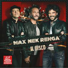 MAX NEK RENGA - IL DISCO (LIVE) - 4LP VINILE NUOVO SIGILLATO PEZZALI