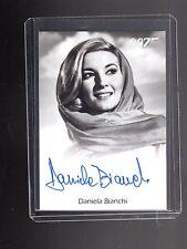 James Bond Archives Final Edition Daniela Bianchi Autographed card