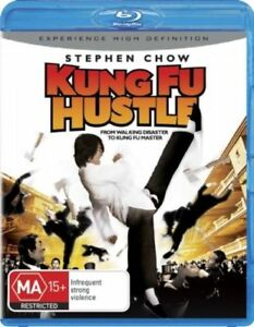 Kung Fu Hustle blu-ray 2007 brand new seal fast safe shipping tracking