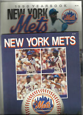 LOT OF 2 NEW YORK METS YEARBOOKS - 1989 & 1990-NM