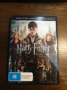 Harry Potter And The Deathly Hallows Part 2 DVD - 2 Discs - Region 4