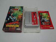 EarthWorm Jim Nintendo Super Famicom Japan VGOOD