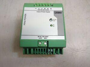 Phoenix Contact Mini-ps-100-240ac/24dc/c2lps Power Supply 2866336