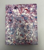 8x10 Original hand-painted Abstract acrylic painting on canvas