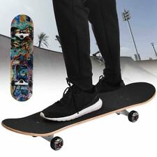Outdoor Sports 80cm 4 Wheel Adult Maple Wood Skateboard Long Board Mini Cruiser