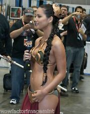 Olivia Munn in bikini as Princess Leia ( Star Wars ) 8 x 10 photo (  125 - 15  )