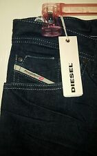 Diesel Zaghor 008IL Boot-Cut Denim Jeans Mens 31×34 NWT