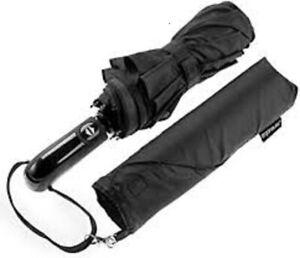 Ergonomad  Windproof Double Vented Ergonomic Handle & Teflon Coated Umbrella