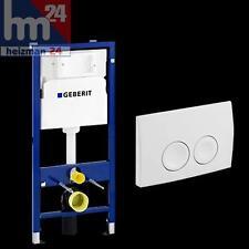 GEBERIT DUOFIX BASIC WC Vorwandelement Betätigungsplatte Delta21 weiß 458103001