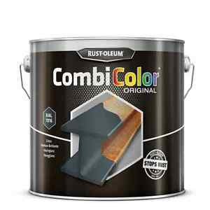 2.5L Rust-Oleum Combicolor Smooth Anthracite Grey RAL7016