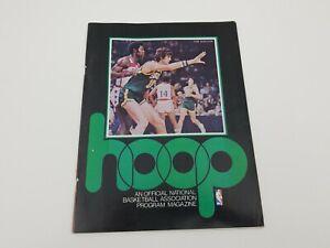 Hoop Magazine 1975-76 NBA Program Dec 30 1975 LA Lakers vs Seattle Supersonics