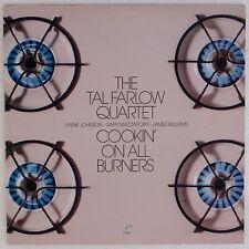 TAL FARLOW QUARTET: Cookin' on All Burners USA Concord Jazz LP NM- Wax