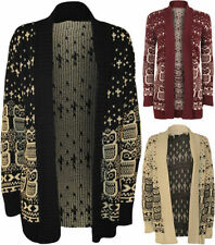Polyester Animal Print Regular Jumpers & Cardigans for Women