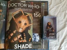 More details for eaglemoss doctor who figurine 156 cybershade, with magazine (new)