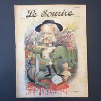 Le Sourire N° 5 du 23 Novembre 1899 - Illustrateur Cadel & Cappiello