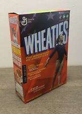 Vintage Wheaties Cereal w/ Carly Patterson 18 oz Full Box Factory Sealed