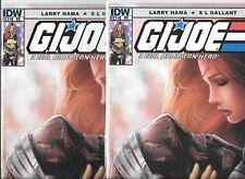 G. I. Joe #214   Lot of 2 (May 2015, IDW Publishing)