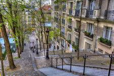 Papier Peint Photo Mural-PARIS (64P)-350x260cm Impression Numérique Montmartre