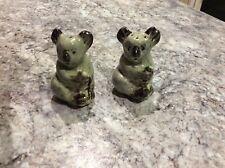 VINTAGE DARBYSHIRE KOALA SALT & PEPPER WITH ORIGINAL STICKER