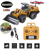 Huina583, 1583 wheel loader Half Metal Excavator Electric Engineering Vehicle #1
