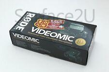 GENUINE Rode VideoMic Directional Video Condenser Shotgun Microphone Mic New