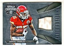 2014 Totally Certified FABRICS GAME USED RELIC #CF-JM JAMAAL CHARLES Chiefs