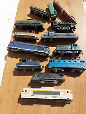 LOT LOCOMOTIVE WAGON JOUEF LIMA ECHELLE HO POUR PIECE
