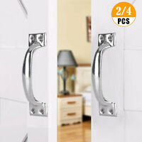 2/4PCS Stainless Steel Cupboard Utility Door Drawer Handles Kitchen Cabinet Pull