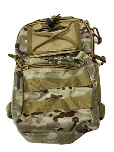 Military Camo Small Accesory Bag Lunch Box New Army With Strap
