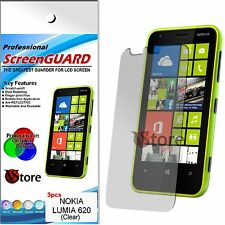3 Films for NOKIA Lumia 620 Protector Save Screen LCD Display Film
