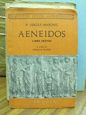Aeneidos, liber sextus - P.Virgilii Maronis, a cura di A.Maggi - Paravia (Y10)