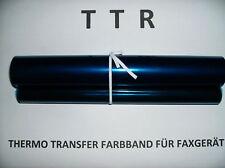 1 TTR Inkfilm-Farbband für Brother FAX T102   T104   T106...
