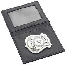 Porte Carte Pochette + Badge POLICE Déguisement Adulte Homme Costume POLICIER