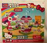 MEGA BLOKS Hello Kitty Fun at the Fair Amusement park Rorry Squirrel NEW in Box