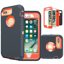 Hybrid Shockproof Hard Case Heavy Duty Defender Cover Fr Apple iPhone 7 / 7 Plus