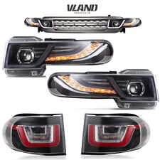 VLAND For Toyota FJ Cruiser 2007-2015 LED Headlights and Taillights with Grille