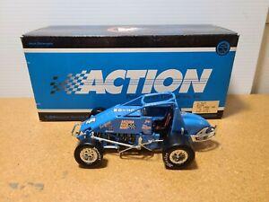 1997 J.J. Yeley #4 Action/Arizona Race Mart Blue 1:24 USAC Sprint Car Action MIB