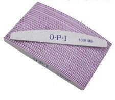 25 Pcs Opi Nail Professional Diamond Files File 100/180 Grit Acr Uv Gel Manicure