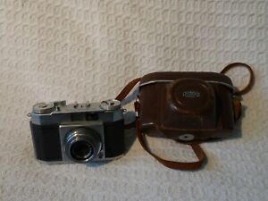 Vintage Olympus Wide II 35mm Film Camera & Case – Zuiko 35mm 1:3.5 Lens