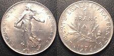 France - Vème République - 1 franc semeuse nickel 1976 SUP - F.226/21