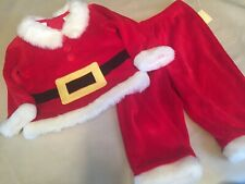 Adorable Baby Boy/Girl Santa Suit Infant Size 6-9 Month 2 Piece Christmas Outfit